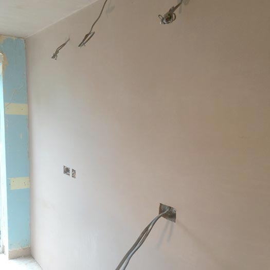 Home plastering